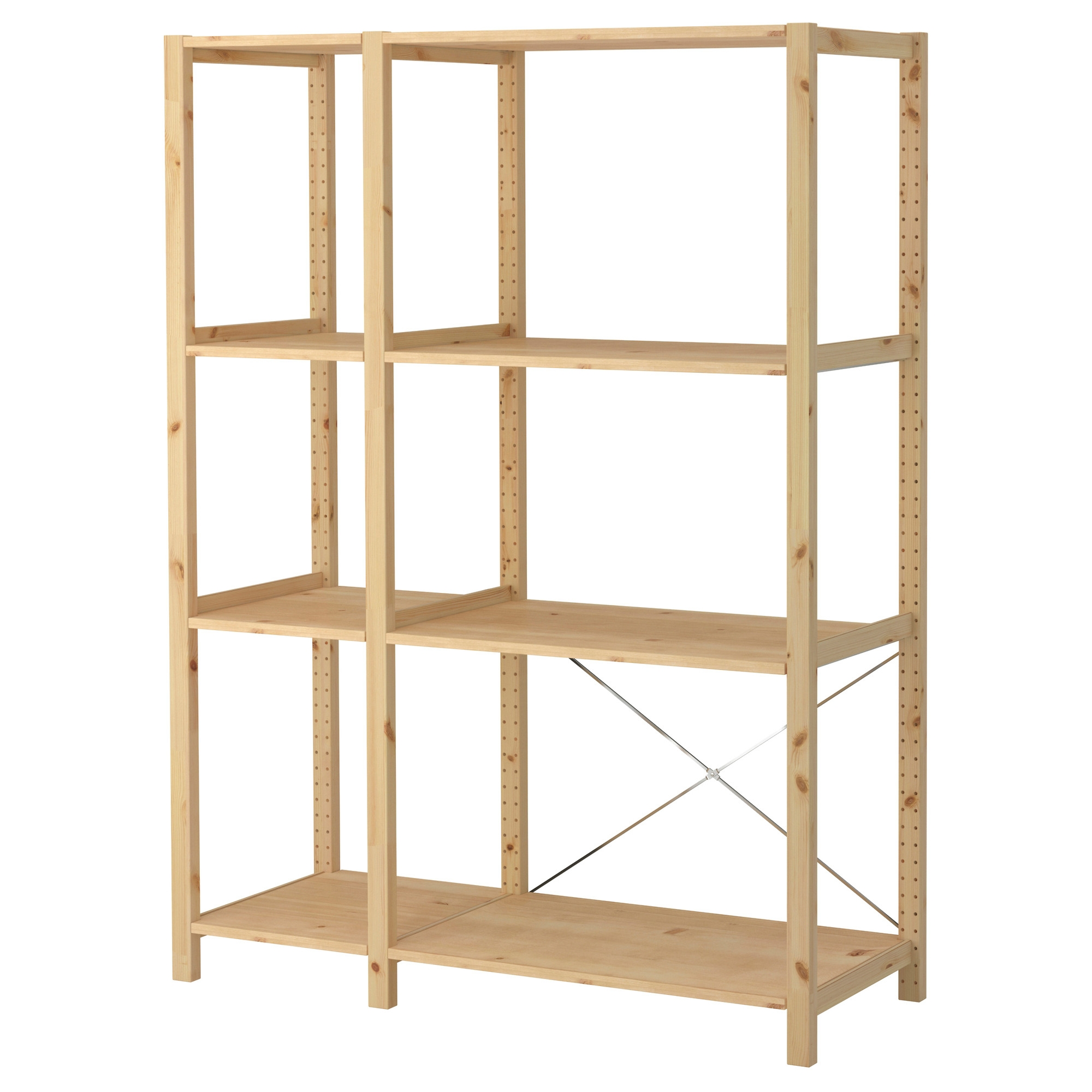 Ikea Regal Gorm Wooden Shelving Units Ikea
