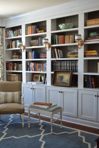 15 Ideas of Library Bookcase Lighting