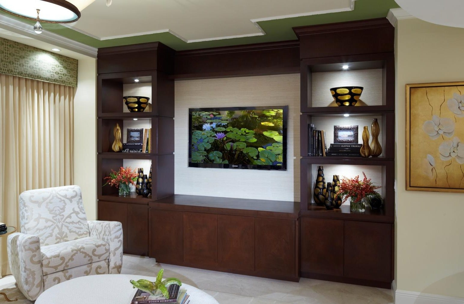 Fitted Wall Units Living Room Living Room
