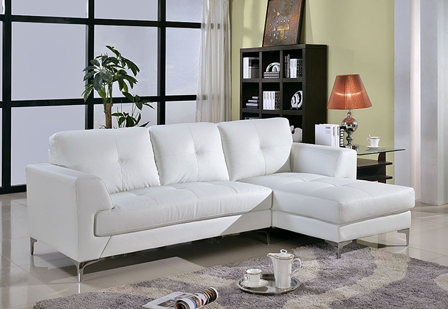 15 Best Ideas of White Leather Sofas
