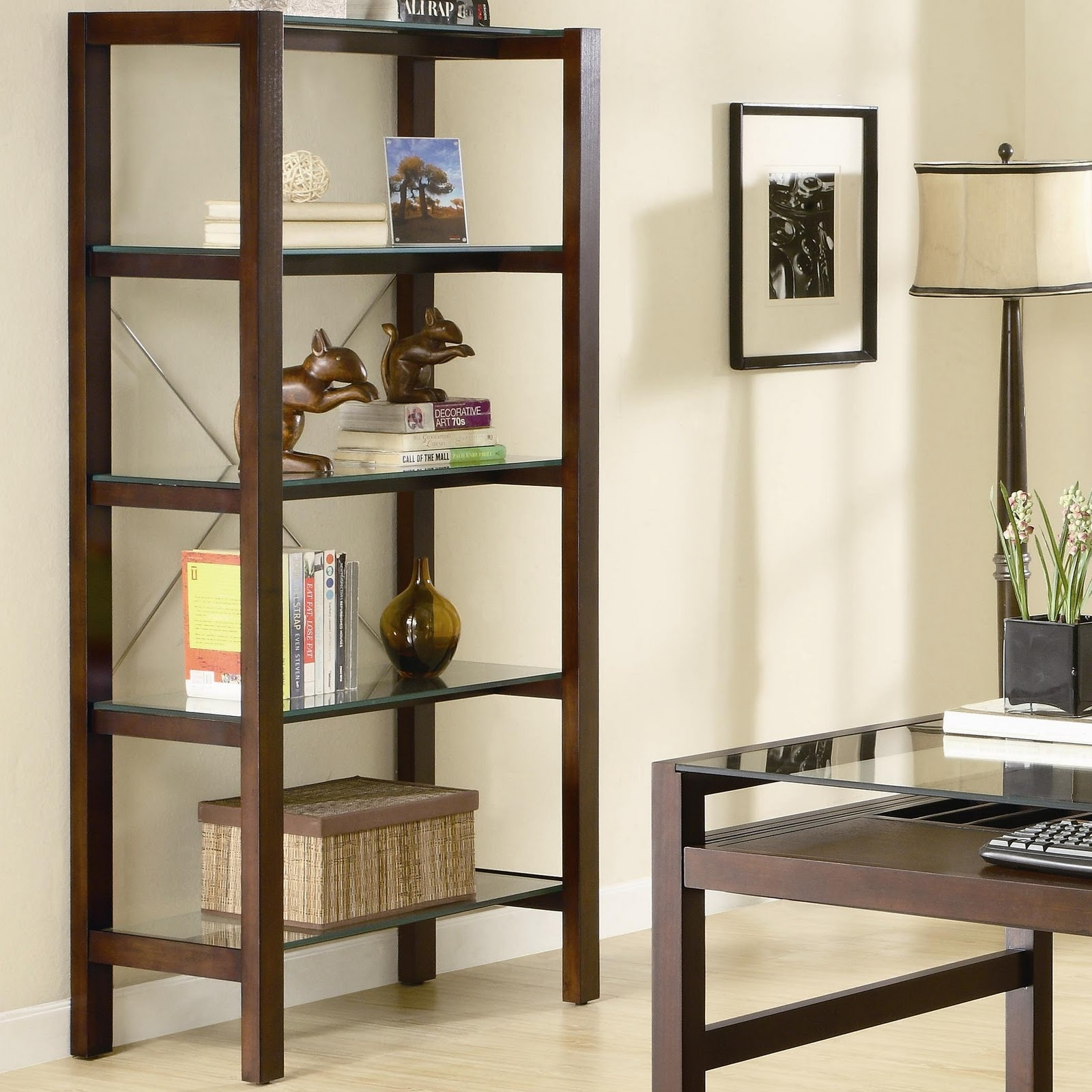 Living Room Storage Units 12 Photo Of Glass Shelves For Living Room