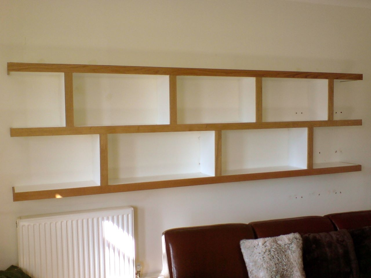 Pictures Of Wall Shelves 15 Best Ideas Of Oak Wall Shelving Units