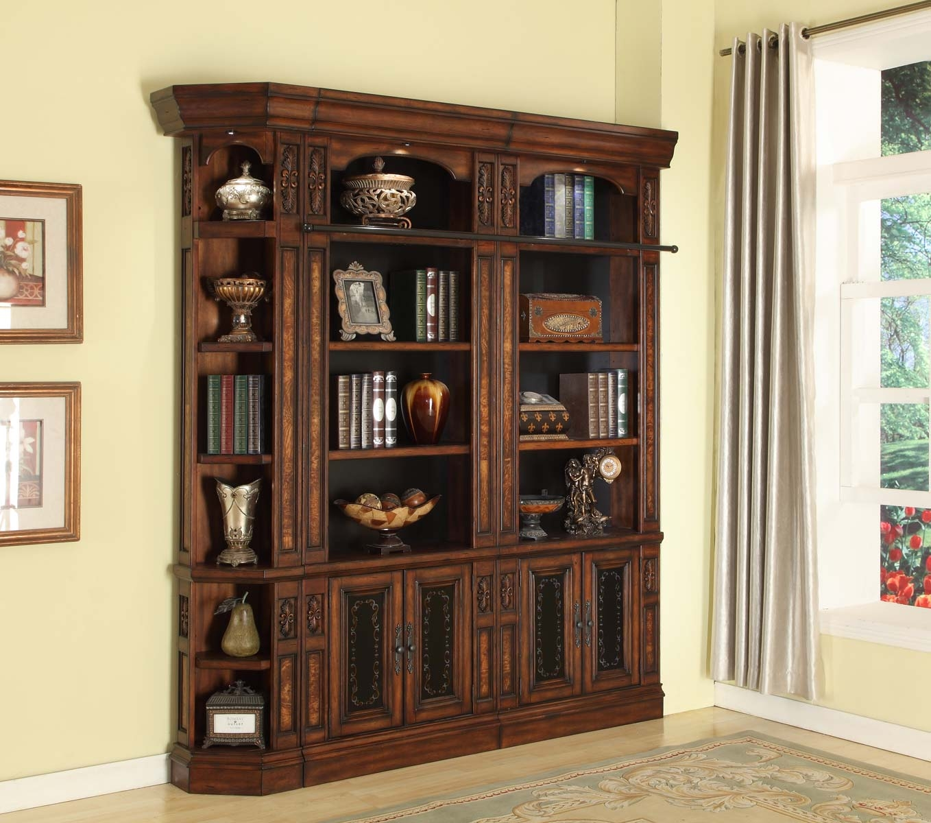 15 Photo Of Bookcase Library Wall Unit