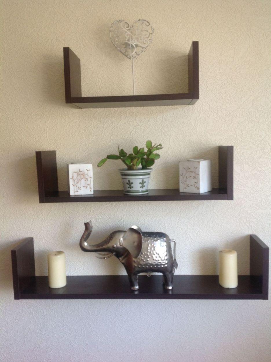 15 Ideas Of Black Glass Shelves Wall Mounted