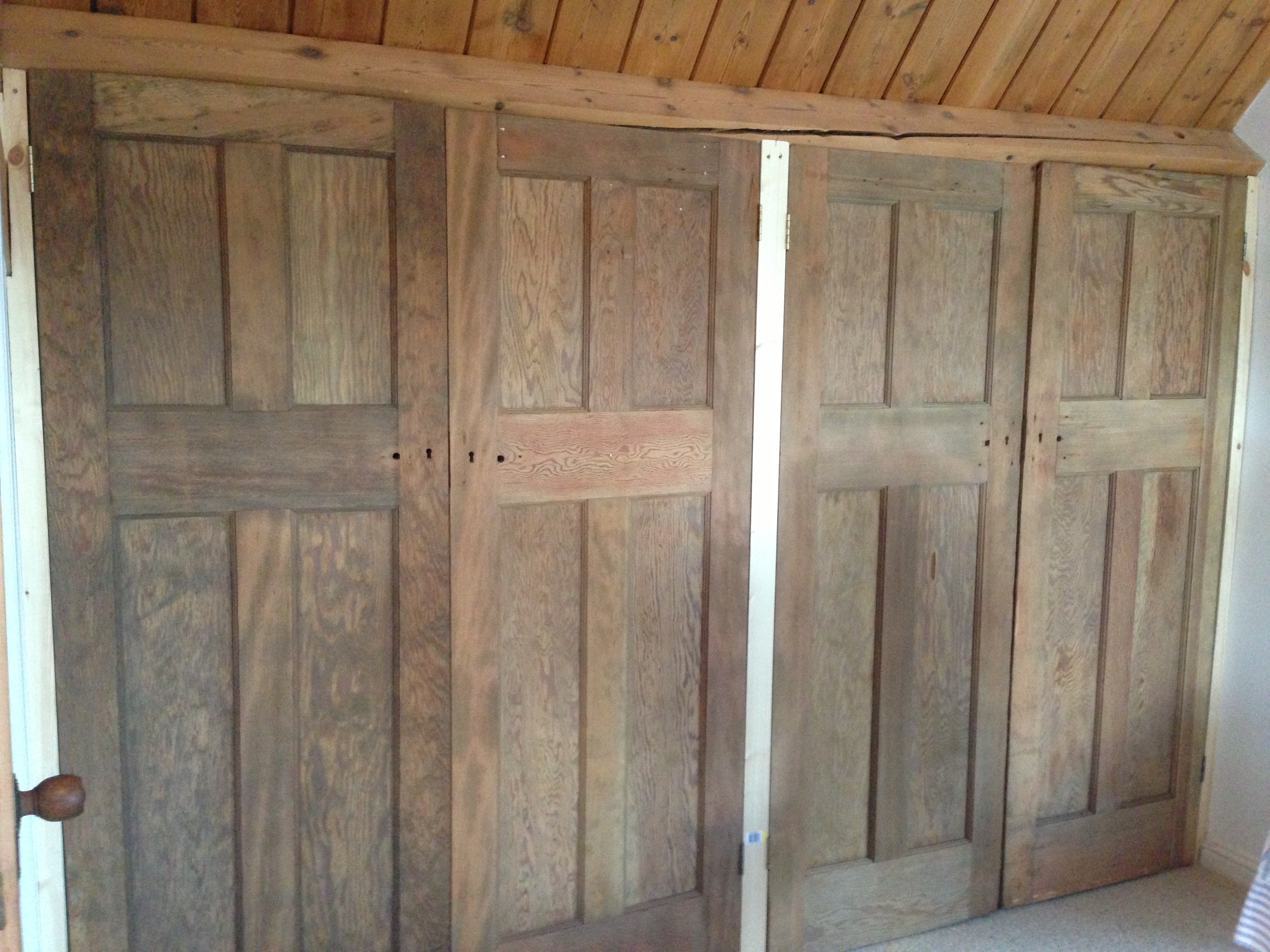 Build In Wardrobe 15 Ideas Of Solid Wood Built In Wardrobes