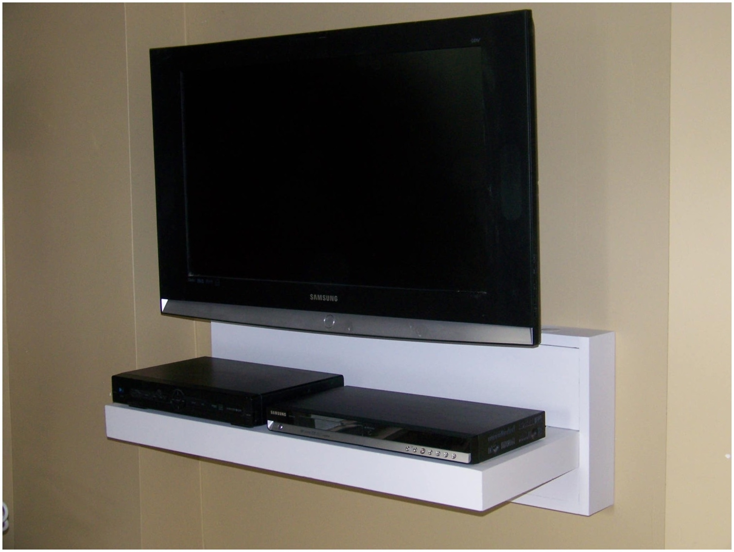 Tv Wall Mount Design 15 Best Collection Of Flat Screen Shelving