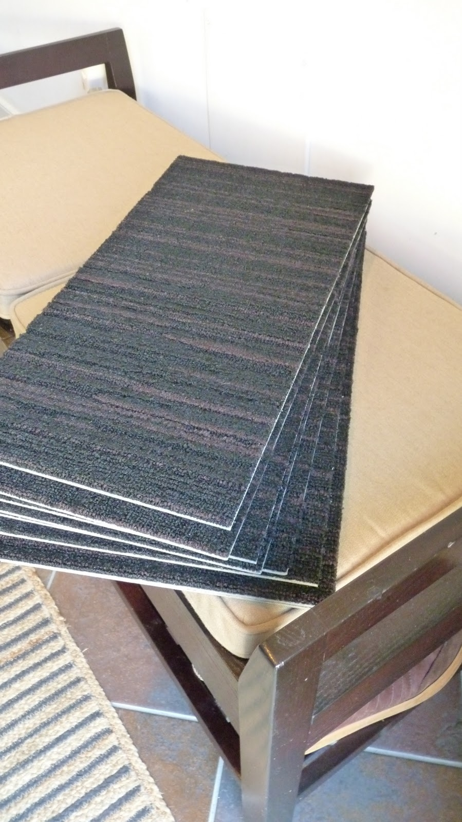 √ Simply Seamless Padded Stair Treads Matching Diy Carpet