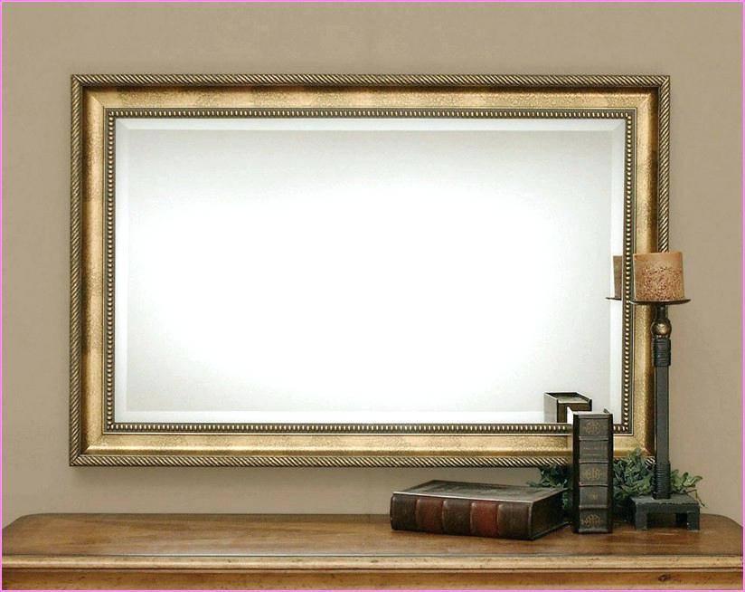 Oak Framed Wall Mirrors - Castrophotos