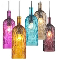 16 Collection of Wine Bottle Pendant Lights