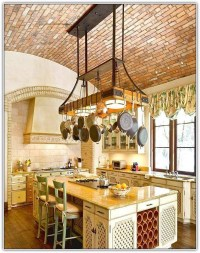 15 Photo of Kitchen Pendant Lights With Pot Rack