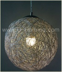 15 Collection of Wire Ball Lights Pendants