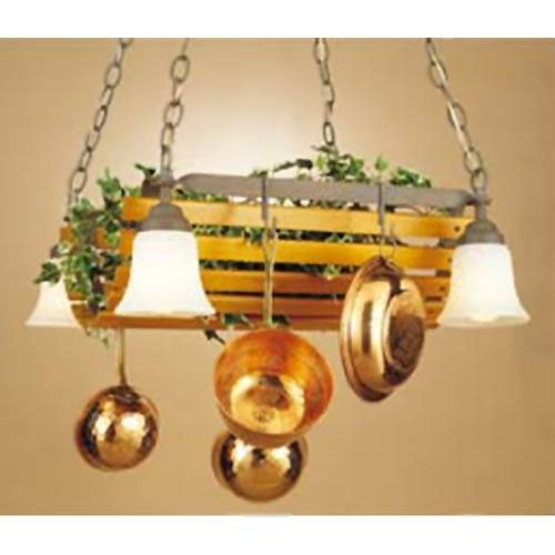 Pottery Barn Kitchen Light Fixtures 15 Ideas Of Pot Rack With Lights Fixtures