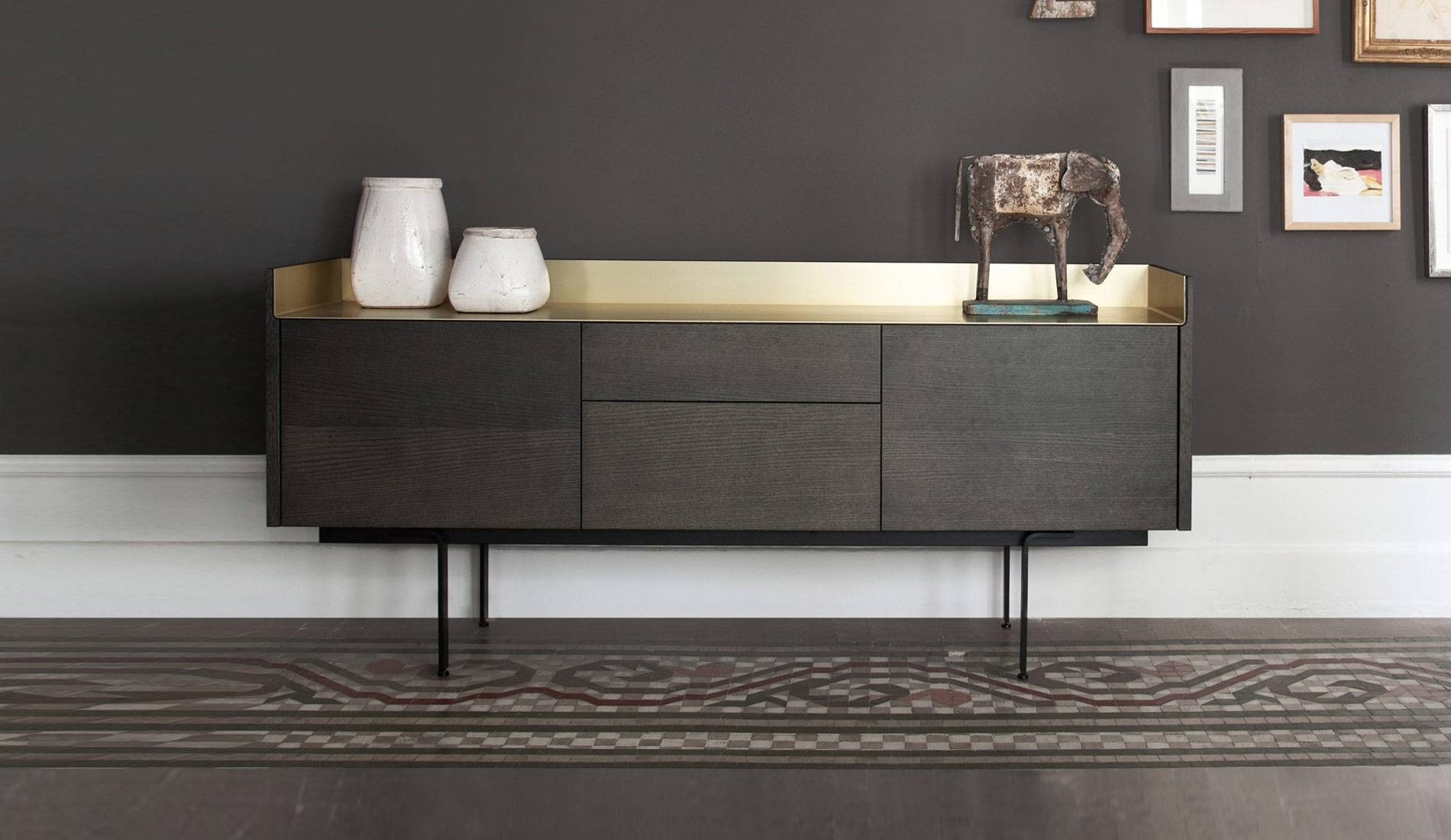 Sideboard Modern Design 15 Ideas Of Modern And Stylish Gold Sideboards
