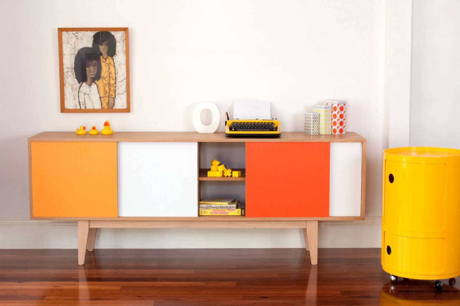 Sideboard Weiß Retro 15 Collection Of Retro Buffet Sideboards