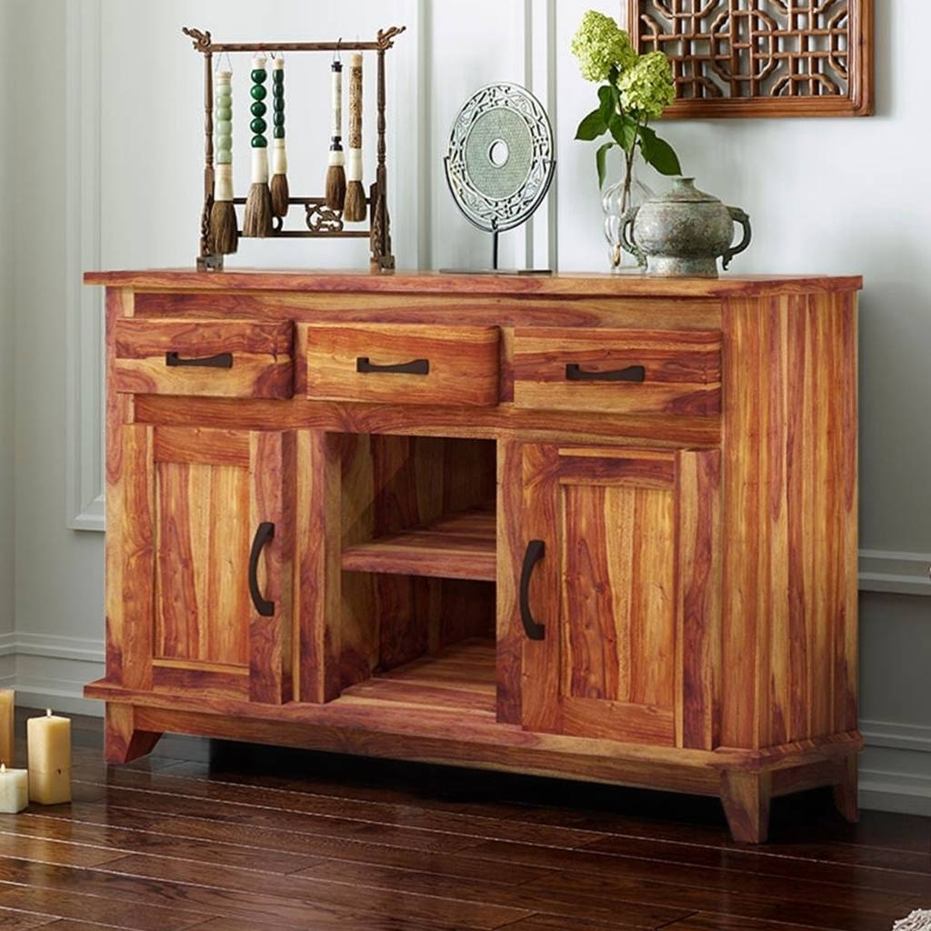 Sideboards And Buffets 15 Best Ideas Of Solid Wood Sideboards And Buffets