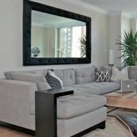 15 Best of Large Mirrors for Living Room Wall
