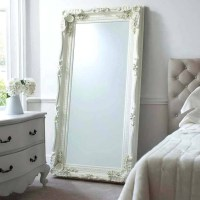 15 Inspirations of Long White Wall Mirrors