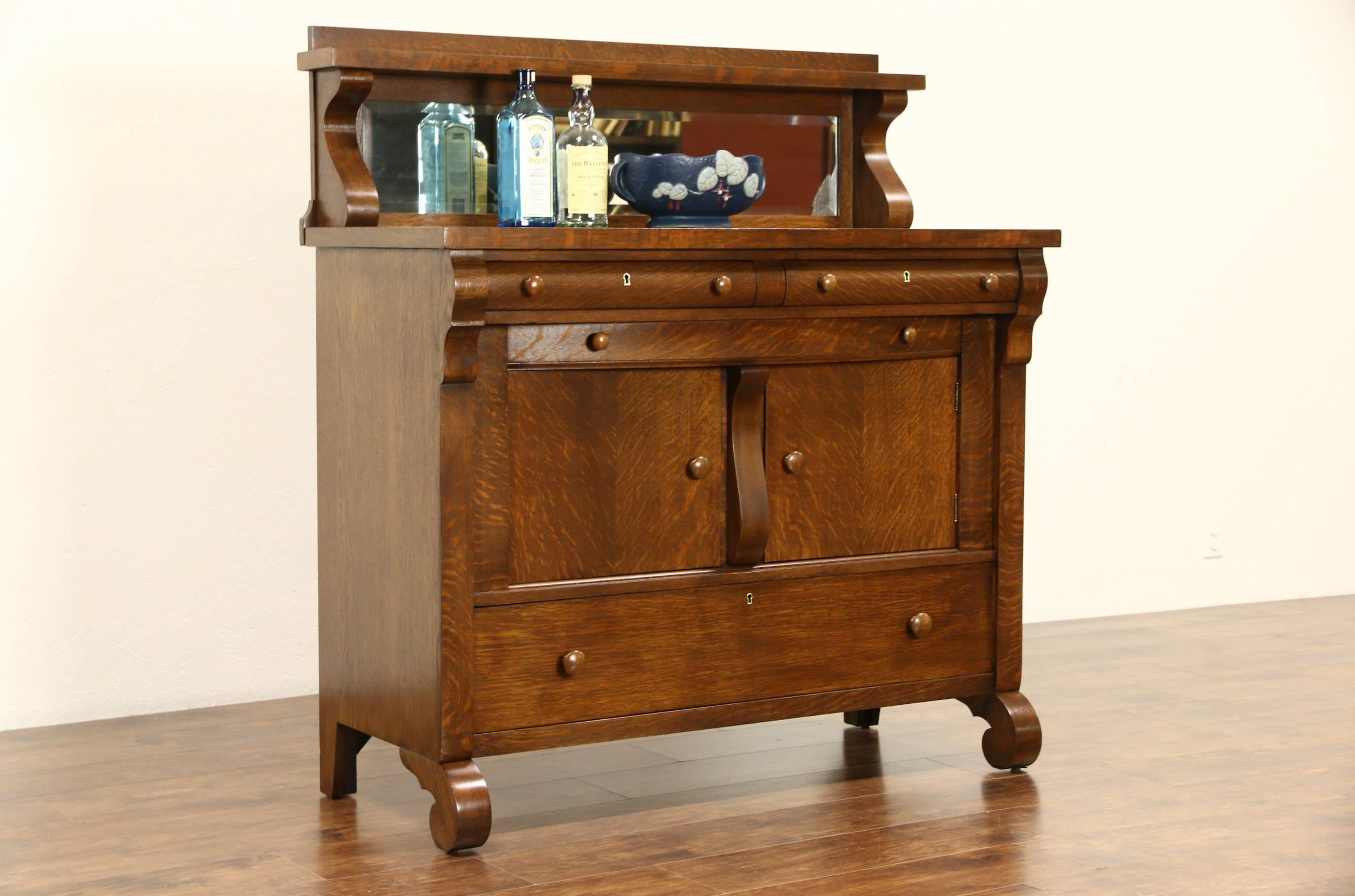 Vintage Oak Sideboard With Mirror 15 Best Of Antique Sideboards With Mirror