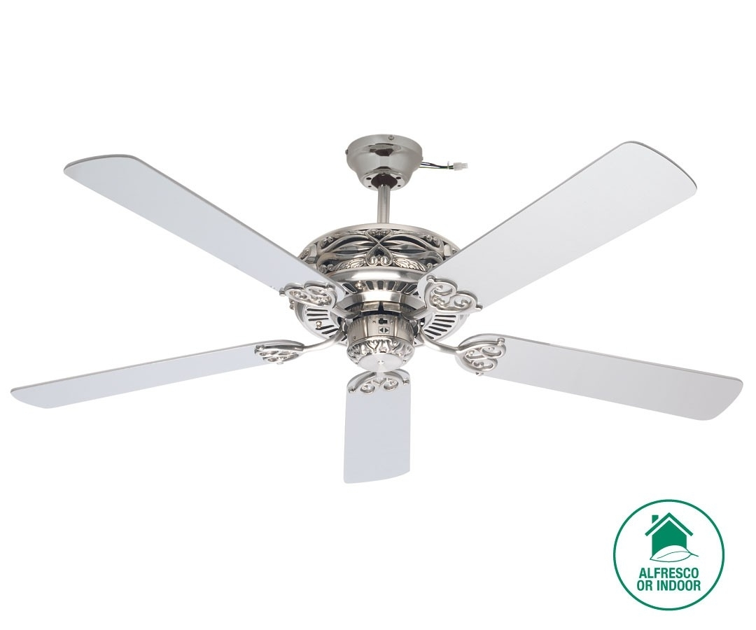 Silver Outdoor Ceiling Fans 15 Collection Of Outdoor Ceiling Fan Beacon Lighting