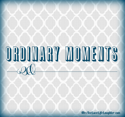 Ordinary Moments | MrsTeeLoveLifeLaughter.com