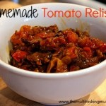 Tomatoes are coming out of my ears… so I made a Relish!
