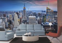 New York New York Wall Mural DS8101
