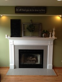 DIY  Fireplace Update  The Musings of May