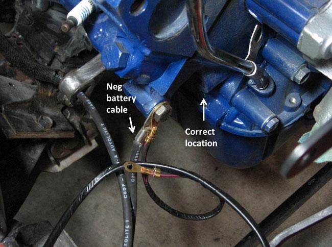 1970 Mustang 351c Alternator Wiring Wiring Schematic Diagram