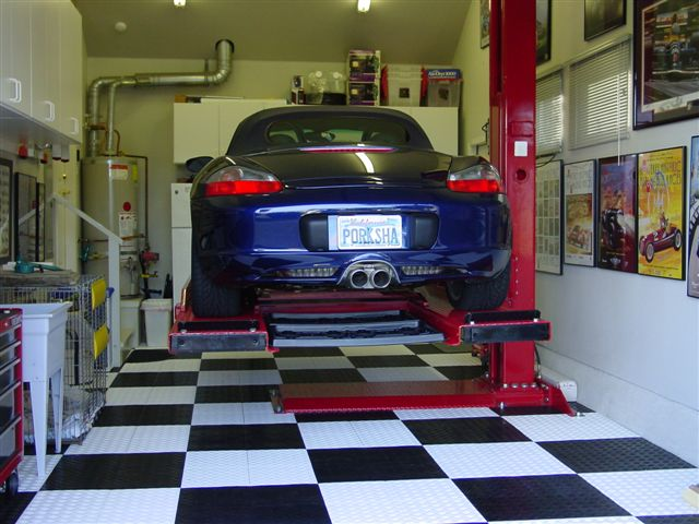 Home Garage Auto Lift The Mustang Source Ford Mustang