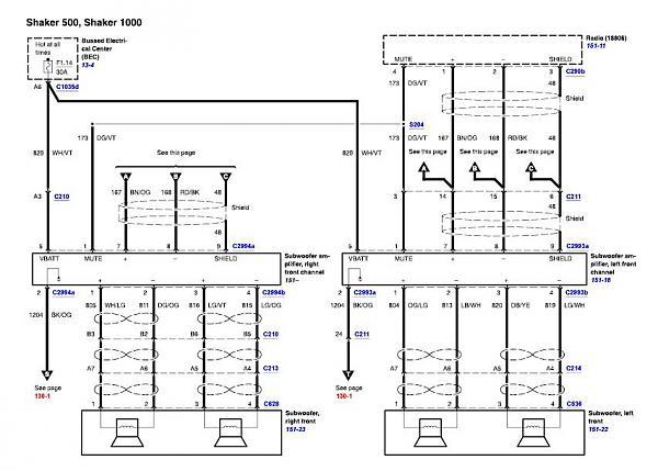 Shaker 500 Cd Player Wiring Diagram - Carbonvotemuditblog \u2022