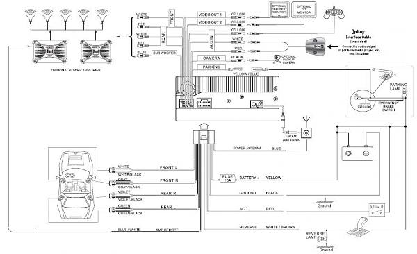 dual dvd wiring diagram