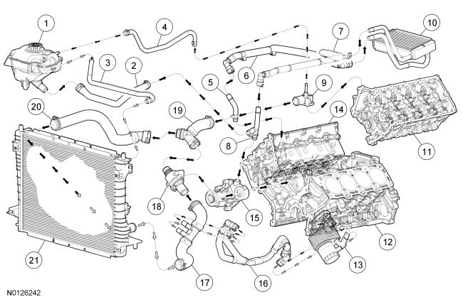 ford coyote engine wiring diagram