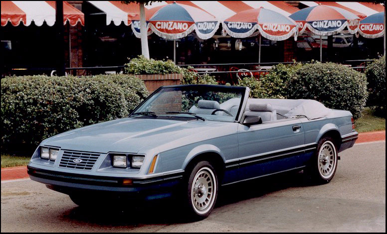 Timeline 1984 Mustang - The Mustang Source