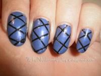 Easy At Home Nail Art 19  Striping Tape Nail Art for ...