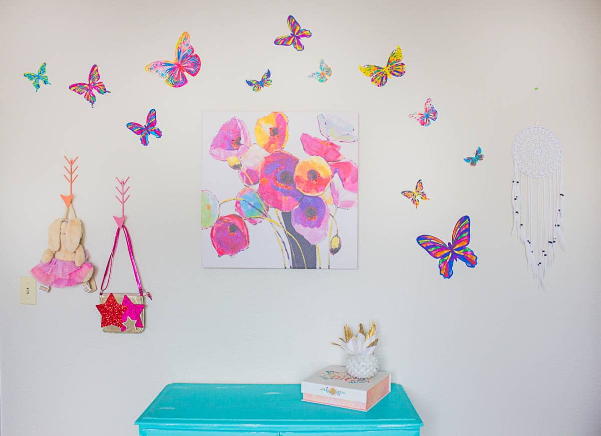 Butterfly Bedroom Themes Butterfly Wall Decals Butterfly Bedroom Ideas The