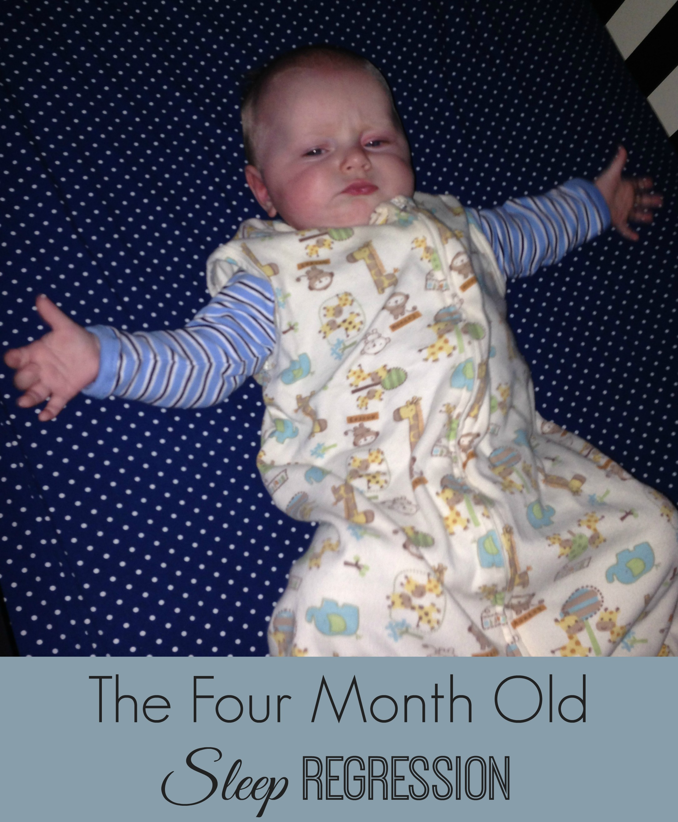 how to put a four month old to sleep