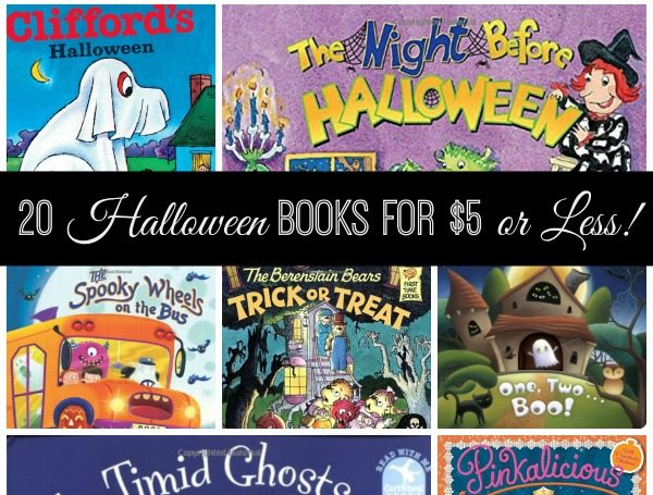 20 Halloween Books for $5 or Less!