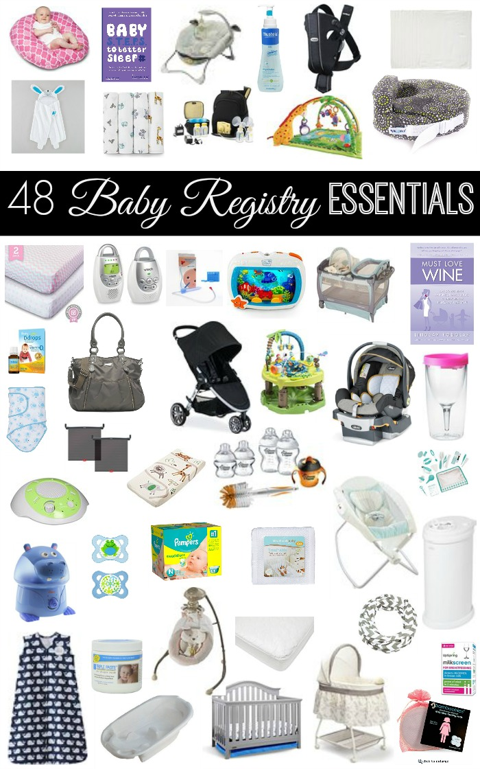 Baby Registry Essentials - The Naughty Mommy