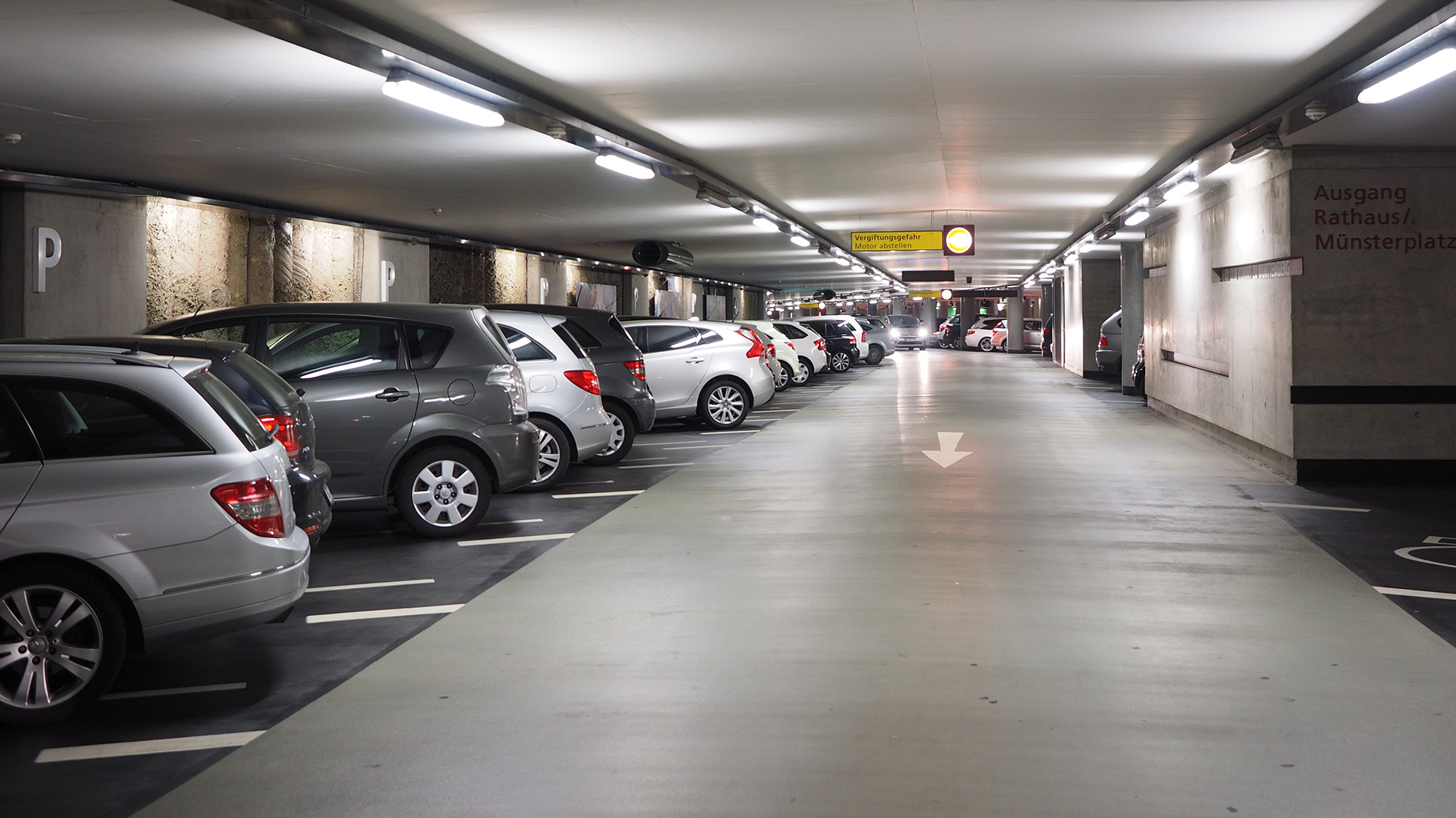 Car Lift To Basement Garage Design Recommendations For Multi Storey And Underground Car Parks