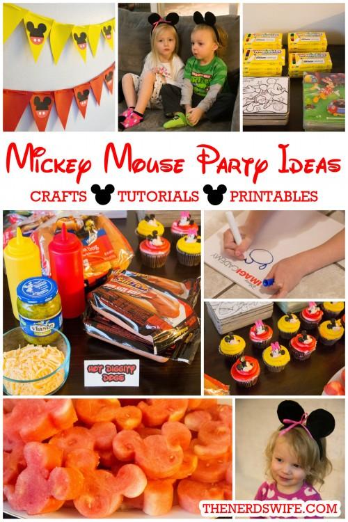 Disney Imagicademy Mickey Mouse Party Ideas - mickey mouse boy birthday party ideas
