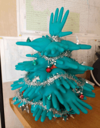 Medical Christmas Fun: Medical Glove Christmas Trees