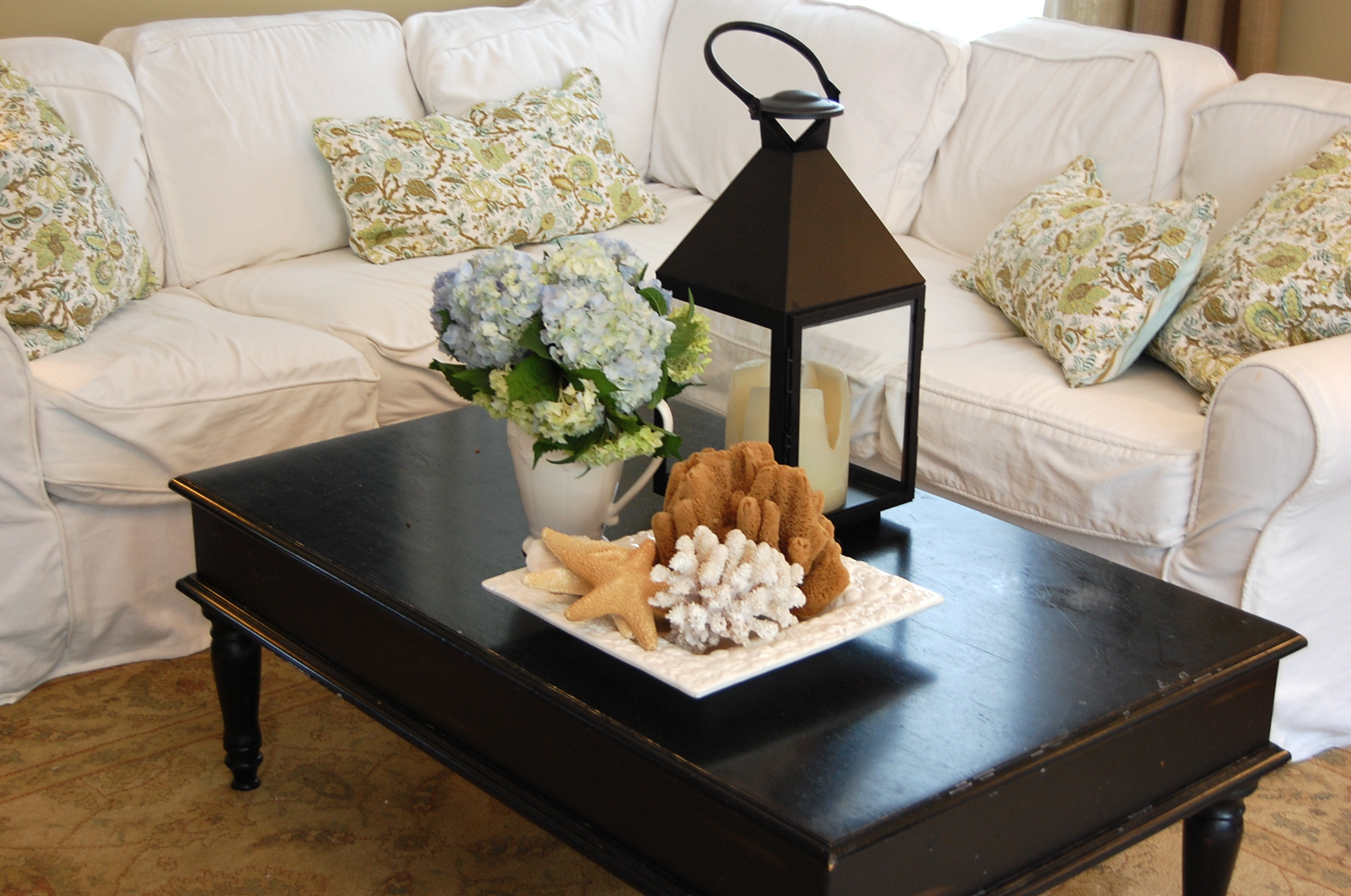 Simple Coffee Table Decor How To Decorate A Coffee Table For Real People