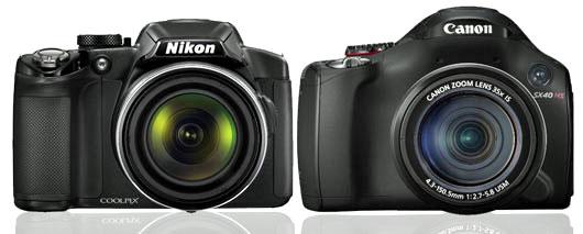 Nikon P510 vs Canon SX40 HS