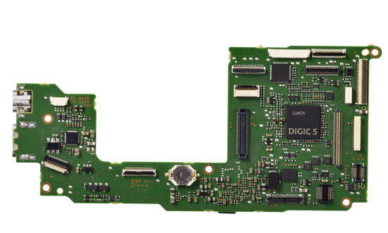 Canon 650D CPU Board