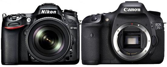 Nikon D7100 vs Canon 7D
