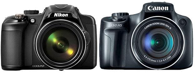 Canon-SX50-HS-vs-Nikon-P600
