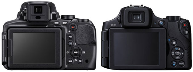 Nikon COOLPIX P900 vs. Canon Power Shot SX60 HS 2