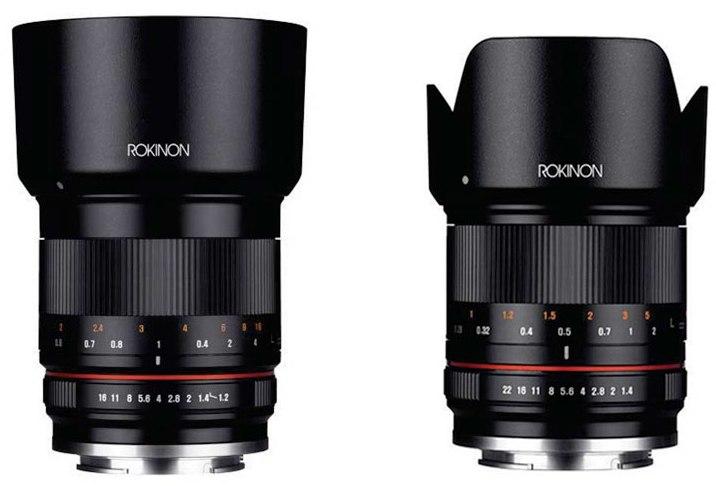 Rokinon announced 50mm f1 2 21mm f1 4 mirrorless lenses for New camera 2015