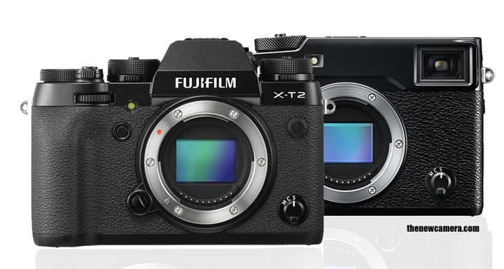 Fuji X-T2 vs Fuji X-Pro 2 camera