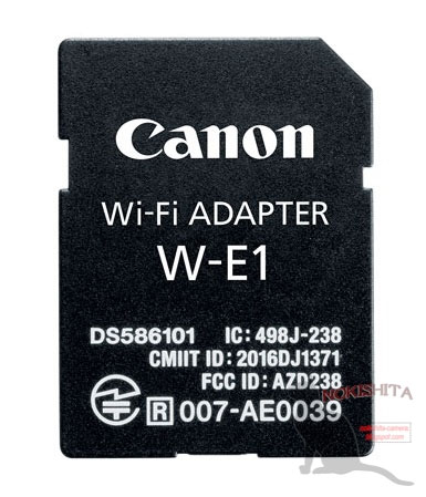 Canon WiFi adapter